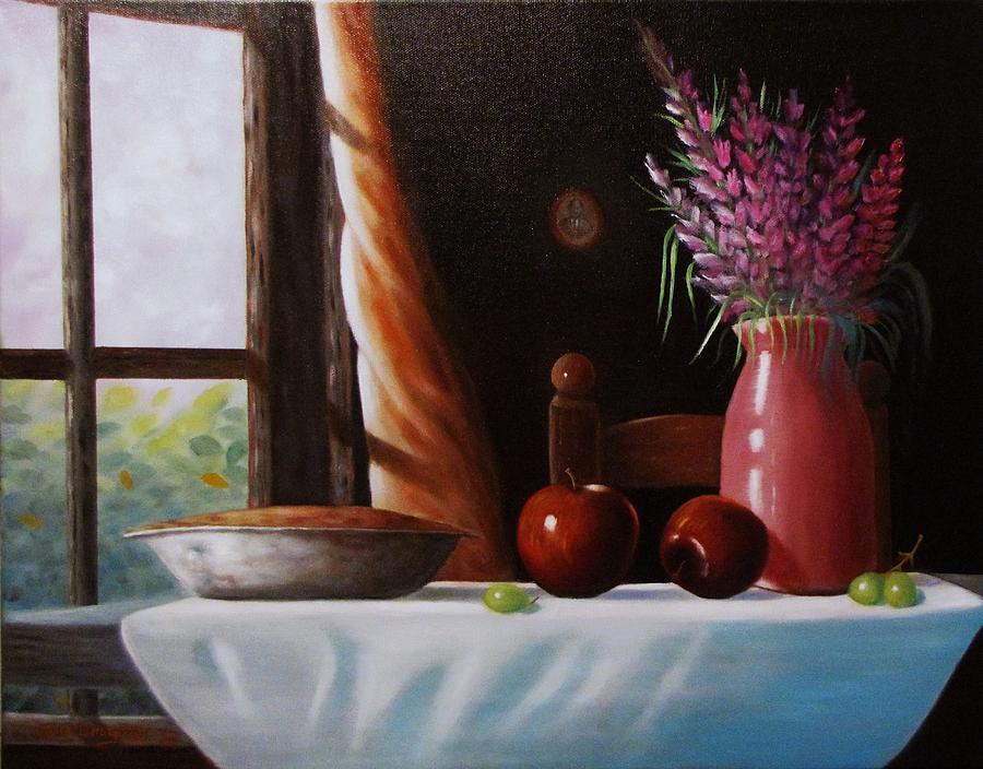Mom's apple pie  by Gene Gregory