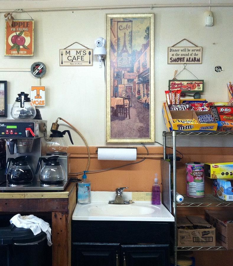 Moms Cafe Photograph by Frank TuttPutt Tuttle