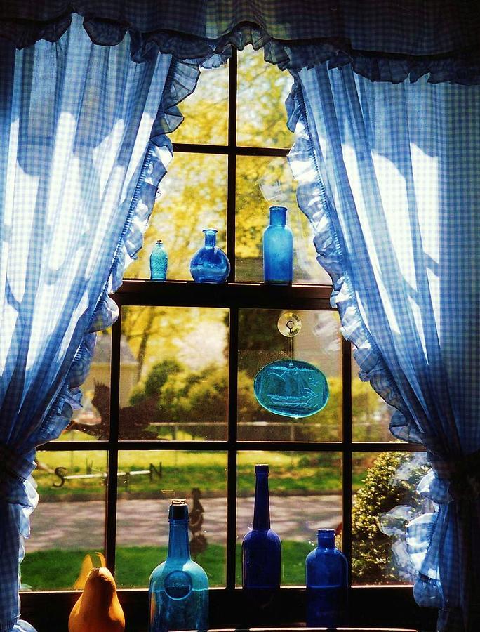 Window Photograph - Moms Kitchen Window by John Scates
