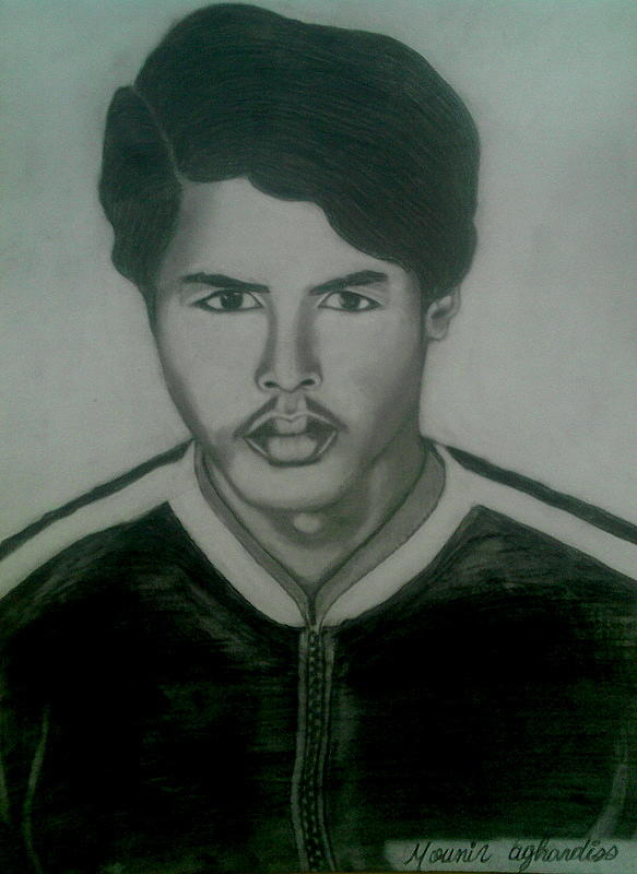 Mon Pere  Drawing by Aghardiss Mounir
