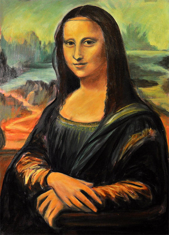 картинка монолиза кто нарисовал как старшая сестра