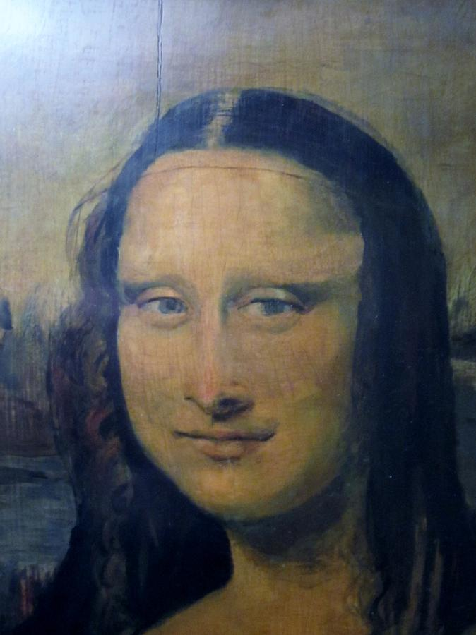 Mona Lisa Painting by Jack Bauer