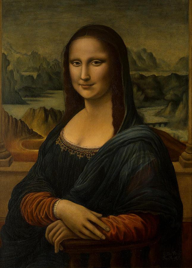 Mona lisa la gioconda reproduction leonardo da vinci for La gioconda di leonardo da vinci