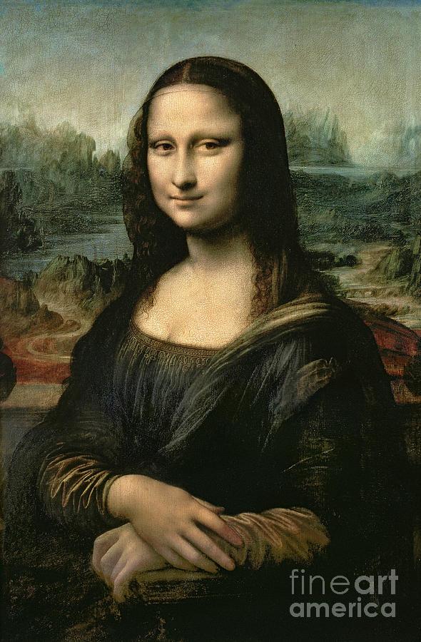 Mona Painting - Mona Lisa by Leonardo da Vinci