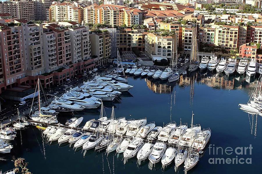 Monaco Photograph - Monaco by Tom Prendergast