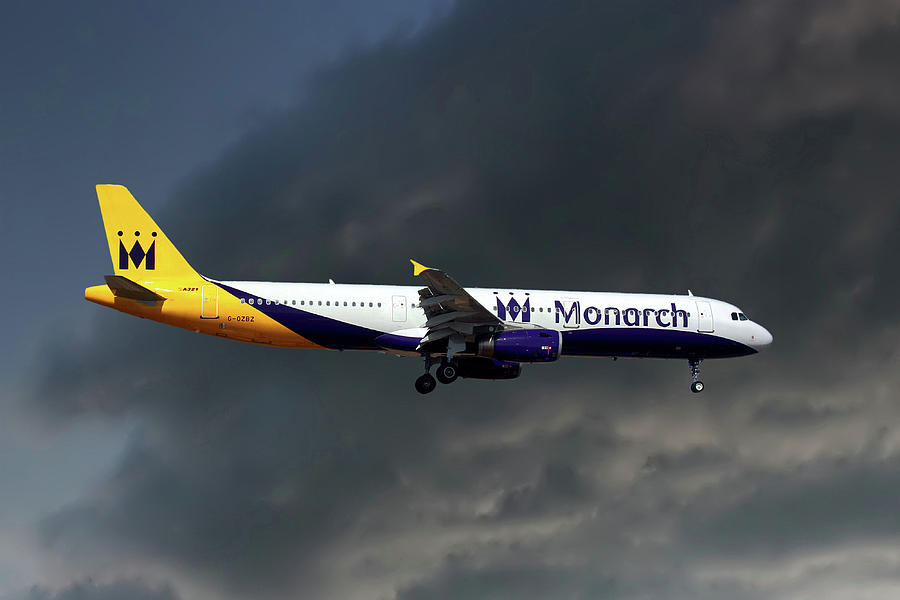 Monarch Airlines Photograph - Monarch Airlines Airbus A321-231 by Smart Aviation