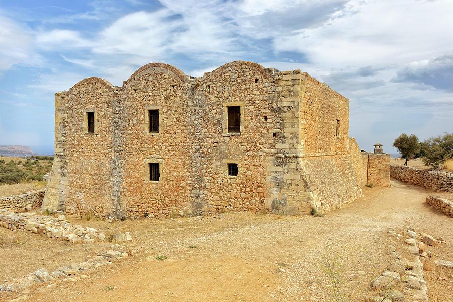 Monastery at Aptera in Crete by Paul Cowan