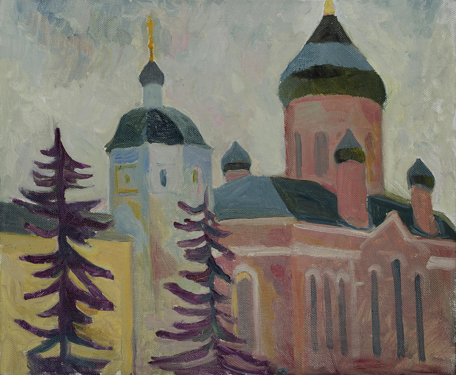 Monastery firtrees by Yana Poklad