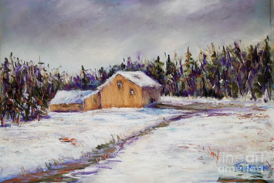Landscape Pastel - Mondauk Road by Joyce A Guariglia