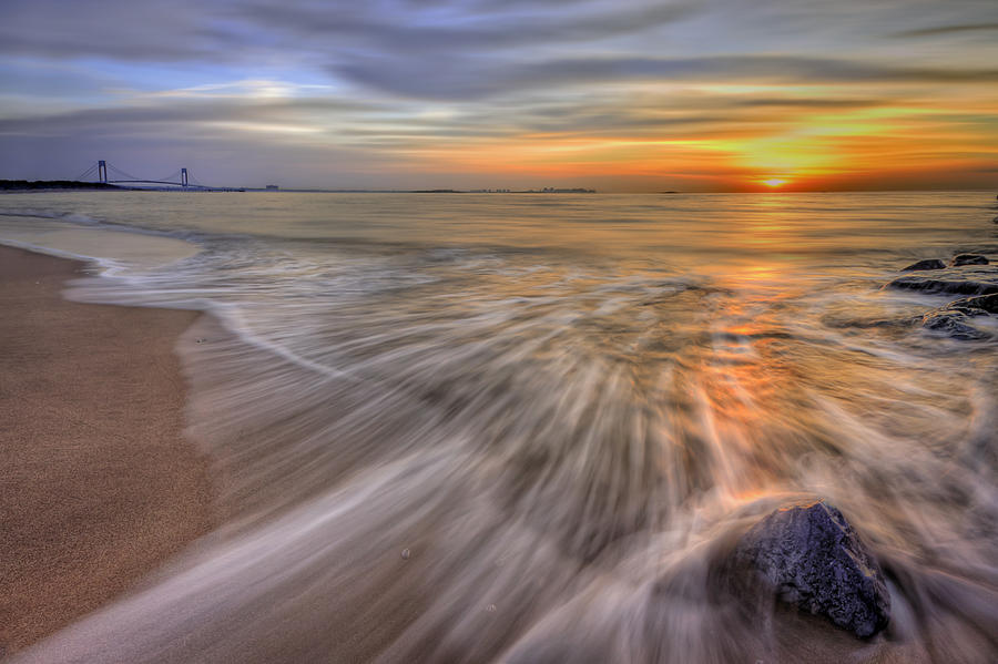 Sun Photograph - Monday Morning by Evelina Kremsdorf