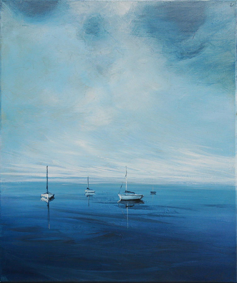 Water Painting - Monday Morning by Michele Hollister - for Nancy Asbell