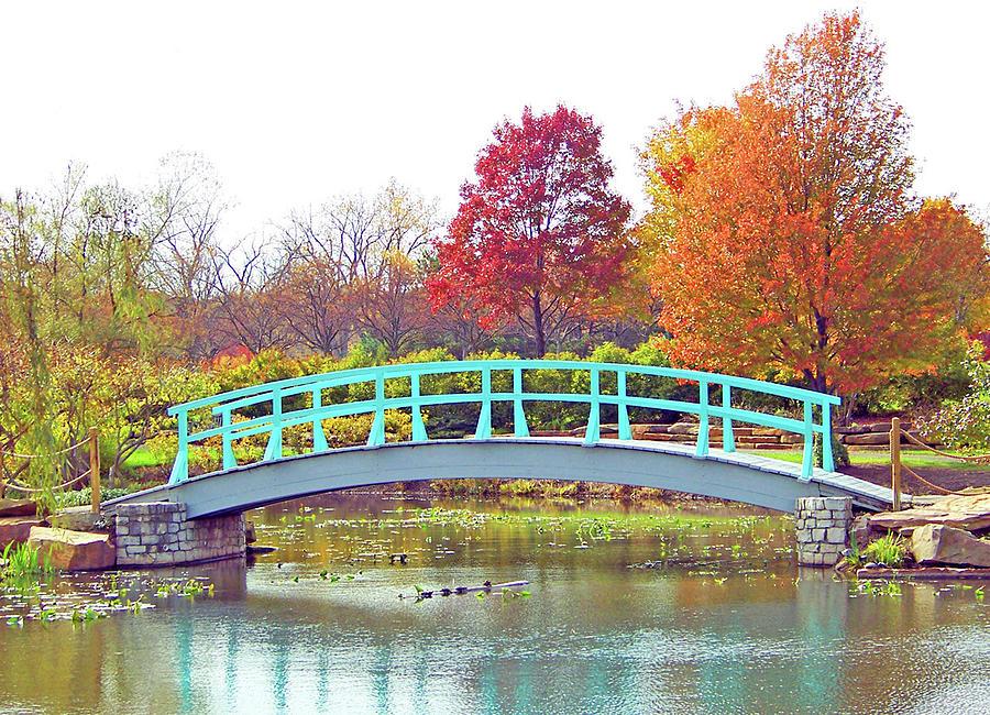 Monet Bridge by Ellen Henneke
