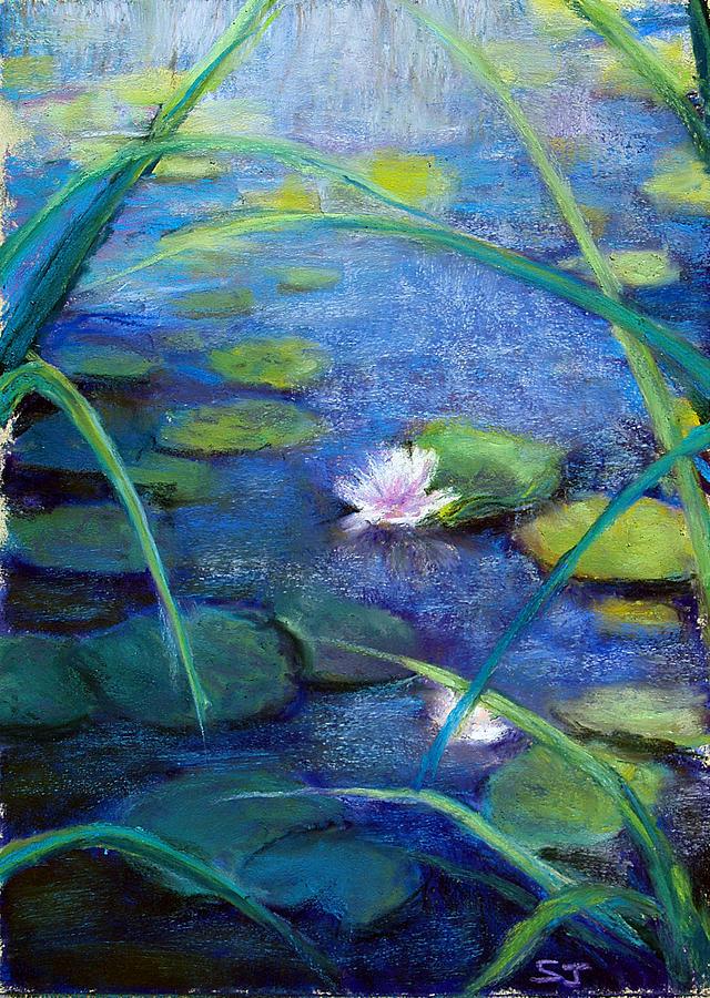 Pond Pastel - Monets Garden by Susan Jenkins