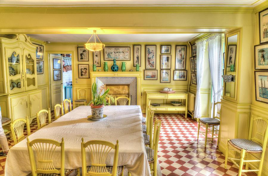 Claude Monet Photograph - Monets Kitchen by Janet Fikar