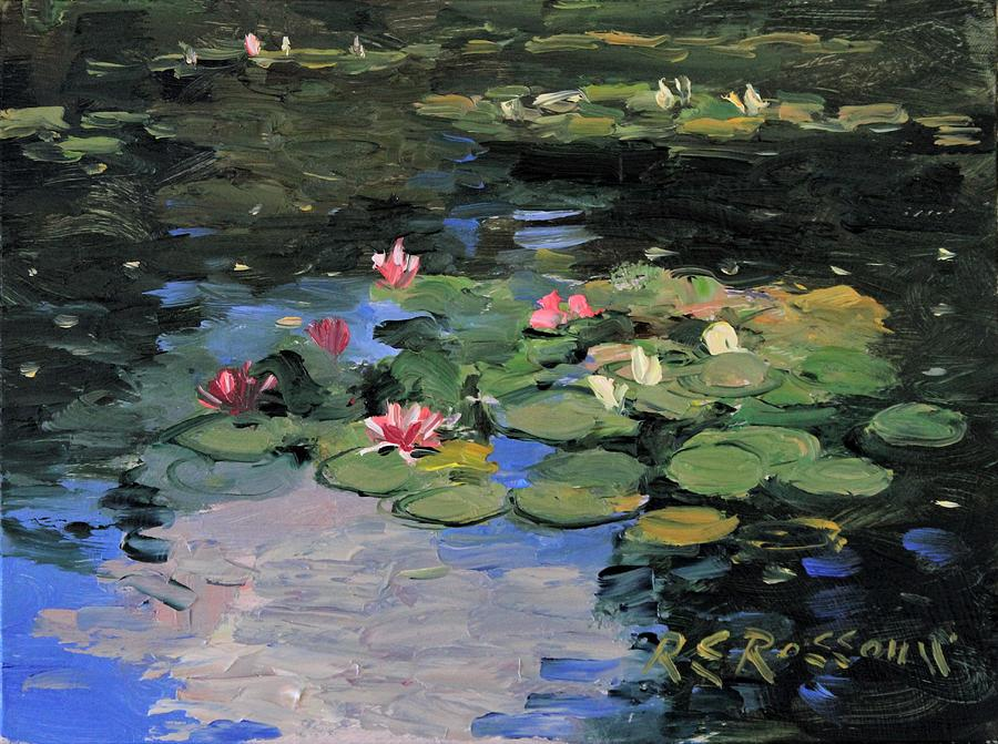 Monet's Lily Pond no.1 by Roelof Rossouw
