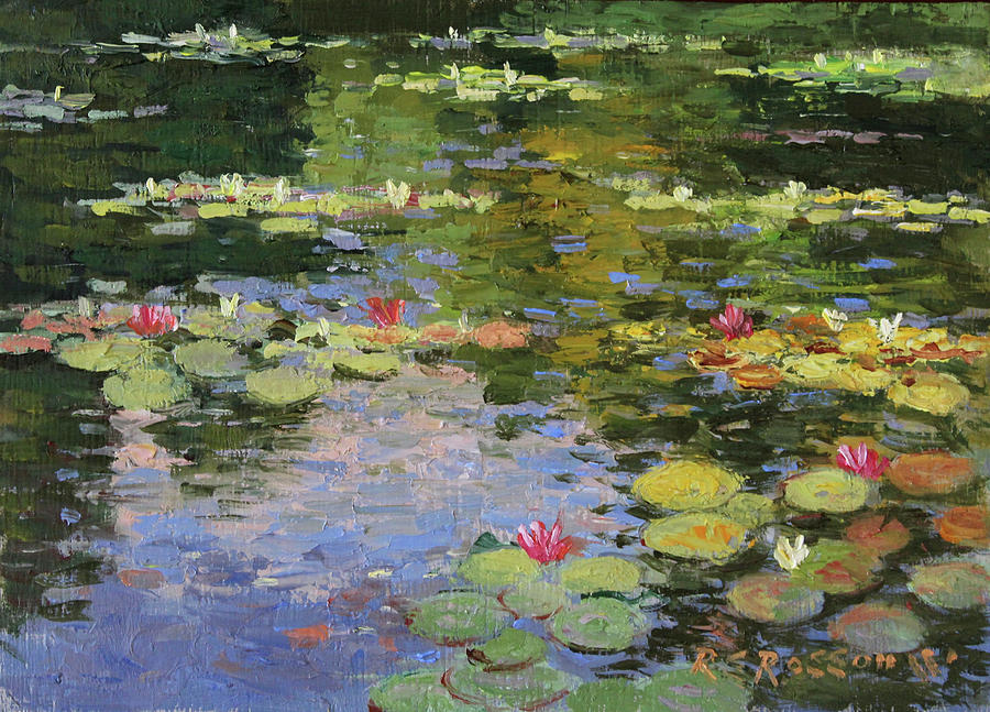 Monet's Lily Pond no.3 by Roelof Rossouw