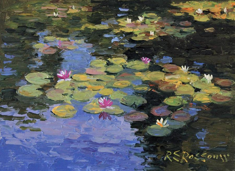 Monet's Lily Pond no.5 by Roelof Rossouw