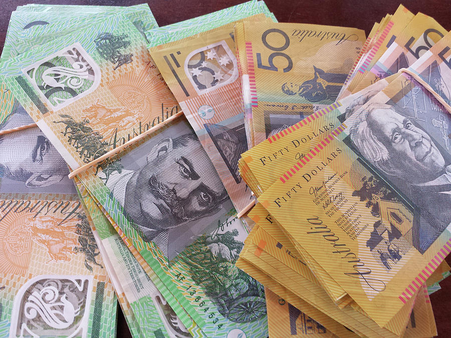 Australian Dollars Photograph - Money by Debbie Cundy