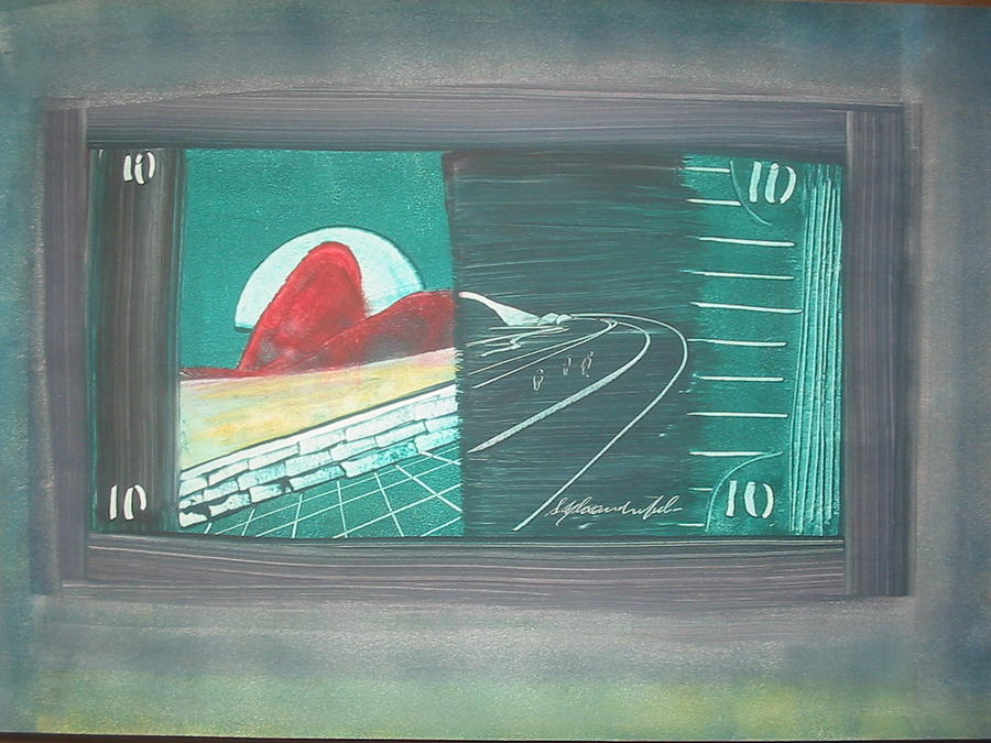 Surreal Painting - Money by Sergio Alexandre