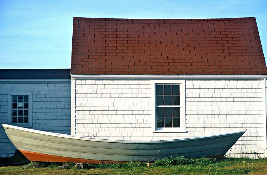 Monhegan boat by AnnaJanessa PhotoArt
