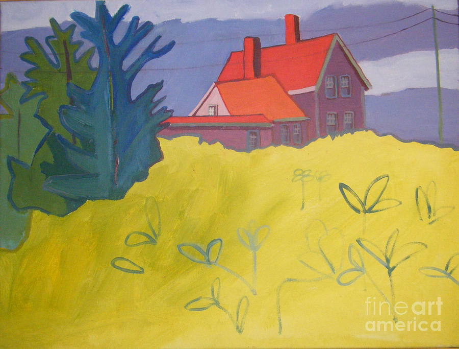 Lighthouse Painting - Monhegan Light by Debra Bretton Robinson