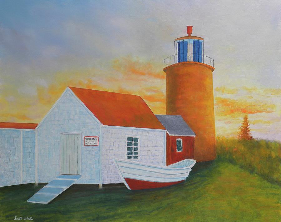 monhegan light by Scott W White