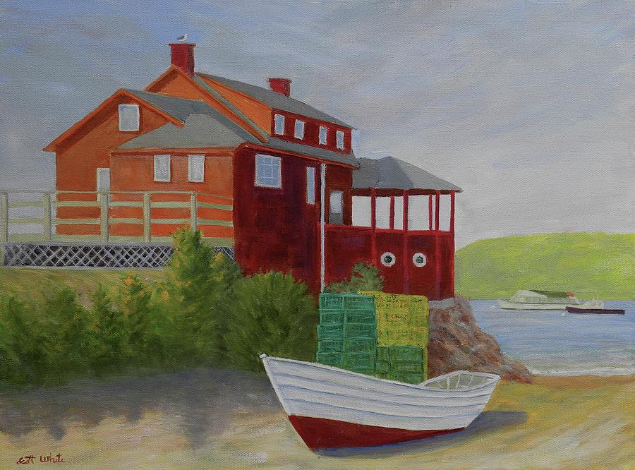 monhegan red by Scott W White