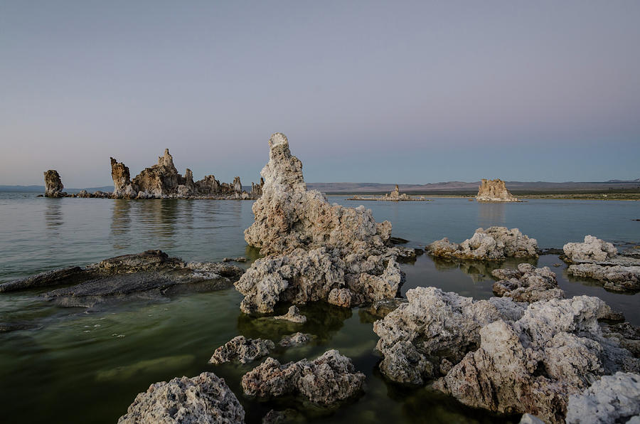 Desert Photograph - Mono Lake At Dusk by Margaret Pitcher