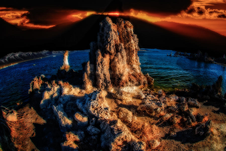 Mono Lake Sunset by Harry Spitz