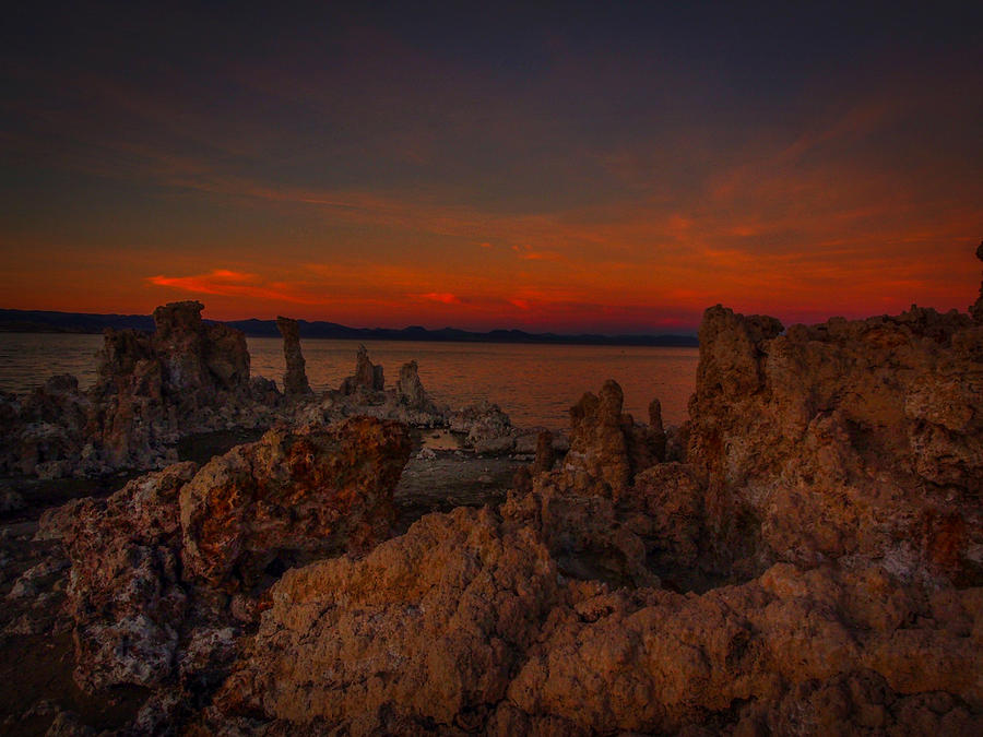 Mono Lake Photograph - Mono Lake Sunset by Michele James