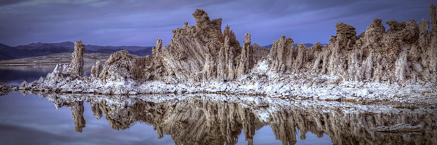 Mono Lake Tufa Formations by Robert Melvin