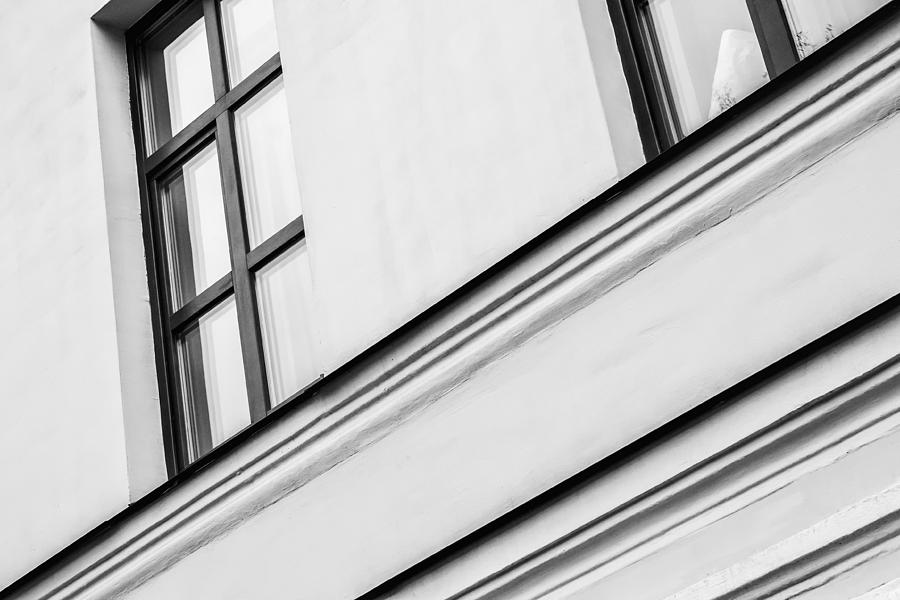 Monochrome Building Abstract 5 Photograph