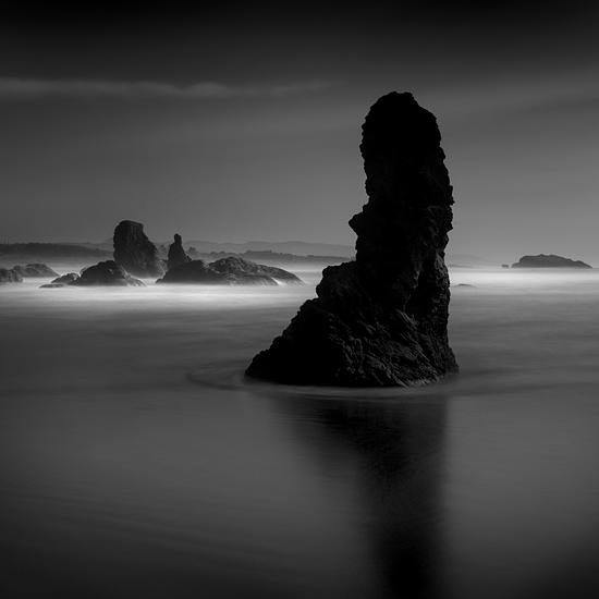 B&w Photograph - Monolith No 1 by Cole Thompson