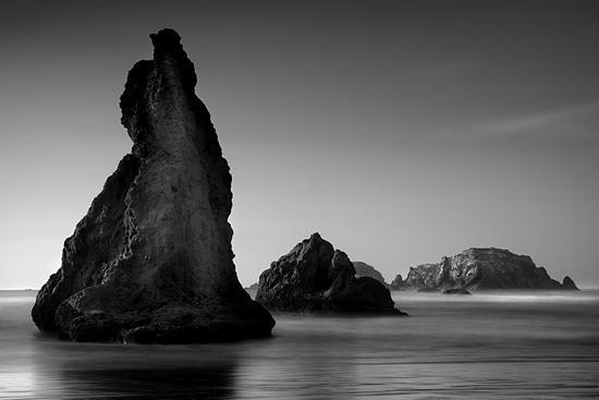 B&w Photograph - Monolith No 4 by Cole Thompson