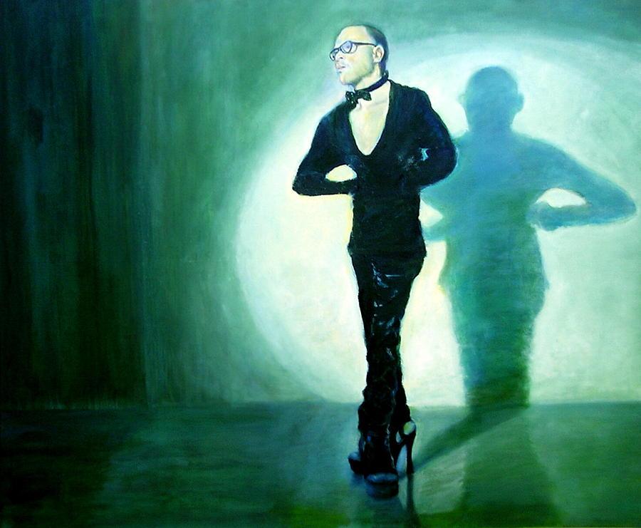 Actor Painting - Monologue by Sylva Zalmanson