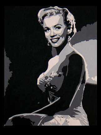 Artwork Painting - Monroe by Michael James  Toomy