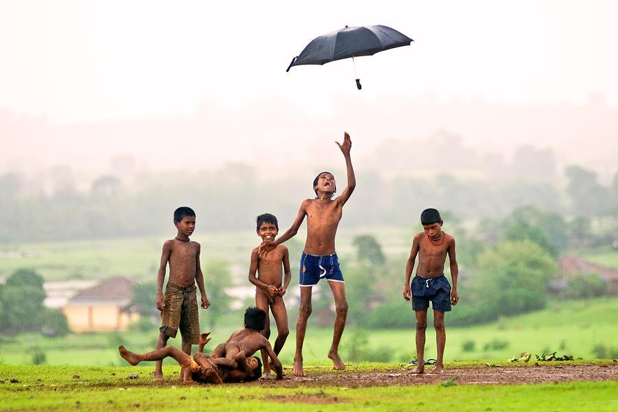 Monsoon Photograph - Monsoon Mania by Pramod Bansode