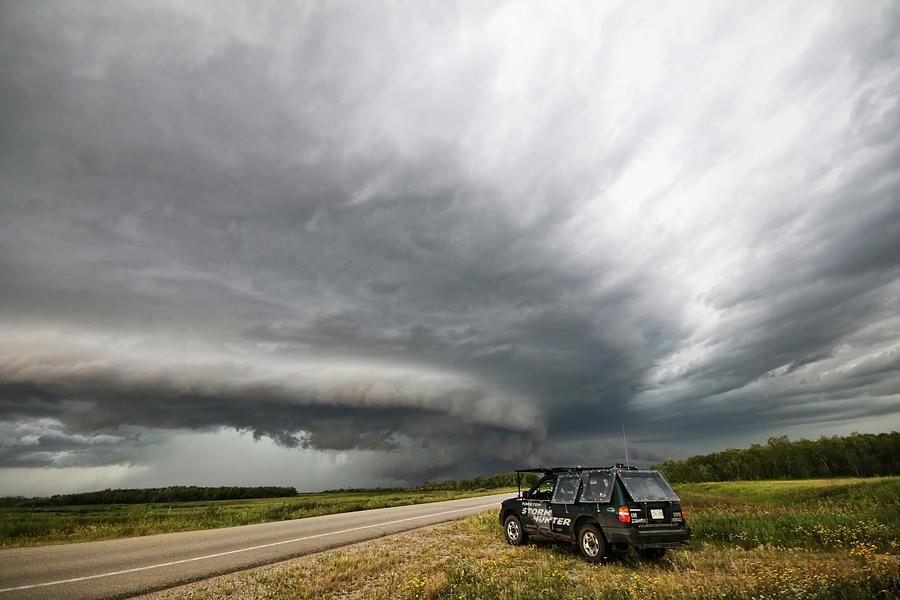 Monster Storm near Yorkton Sk by Ryan Crouse
