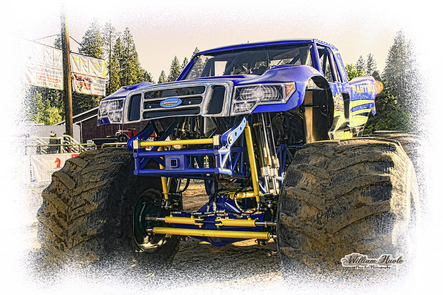 Monster Truck At The Fair by William Havle