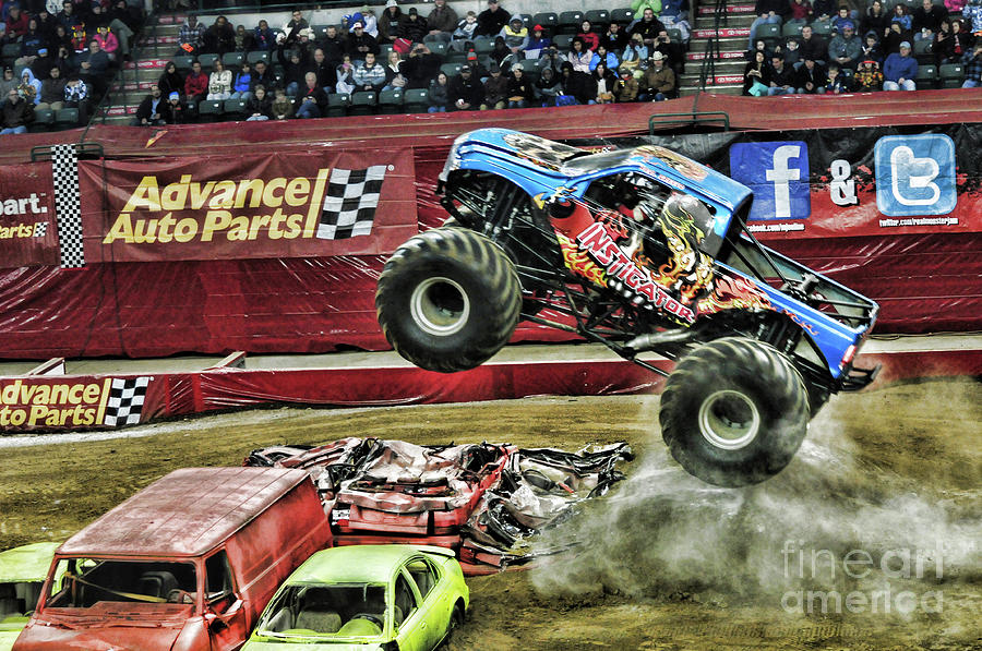 Monster Truck Instigator Photograph By Paul Ward