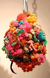A Sculpture - Monsterball by Susan Danis