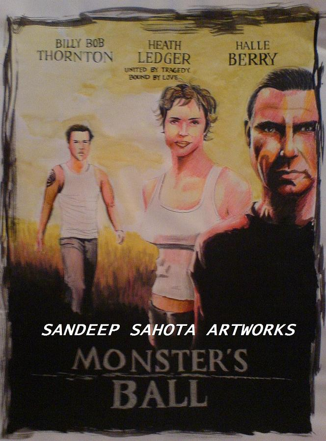 Tom Cruise Painting - Monsters Ball by Sandeep Kumar Sahota