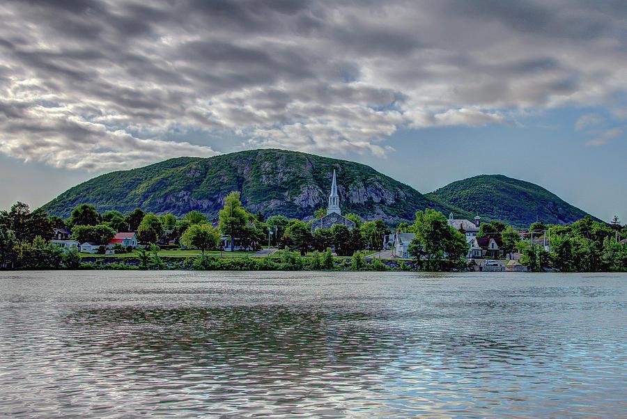 Mont Saint Hilaire from Vieux Beloeil by Rick Shea