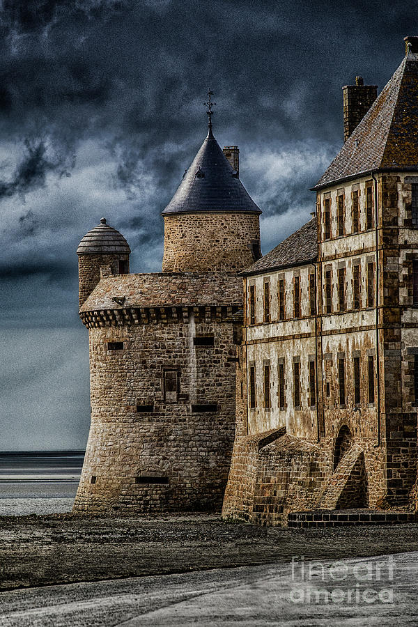 Mont Saint Michel Photograph - Mont Saint Michel by John Karcher