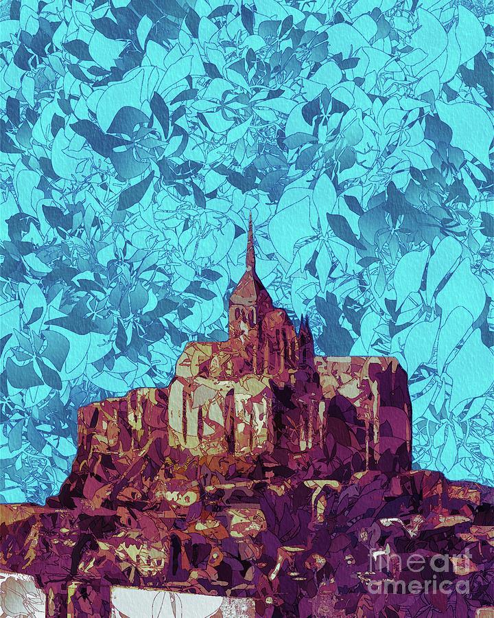Mont Saint-michel Painting