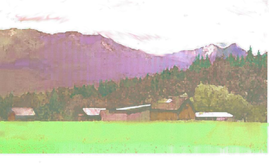 Montana Bound  Painting by Joseph Barani