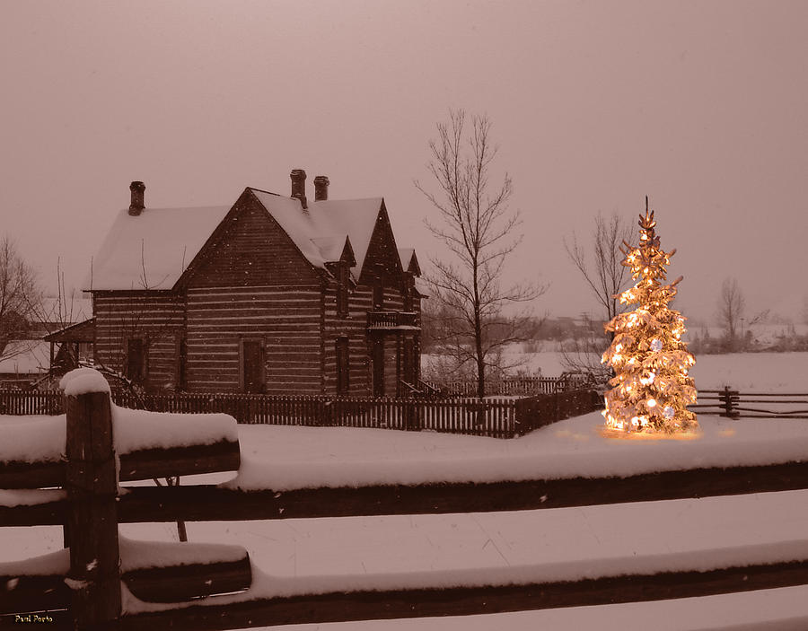 Bozeman Photograph - Montana Christmas by Paul Porto