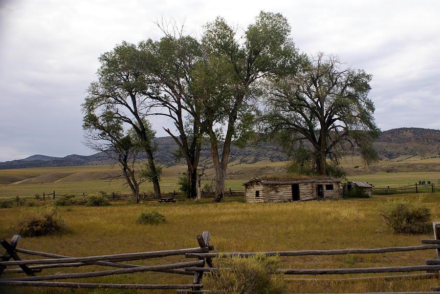 Ranch Photograph - Montana Homestead by Marty Koch