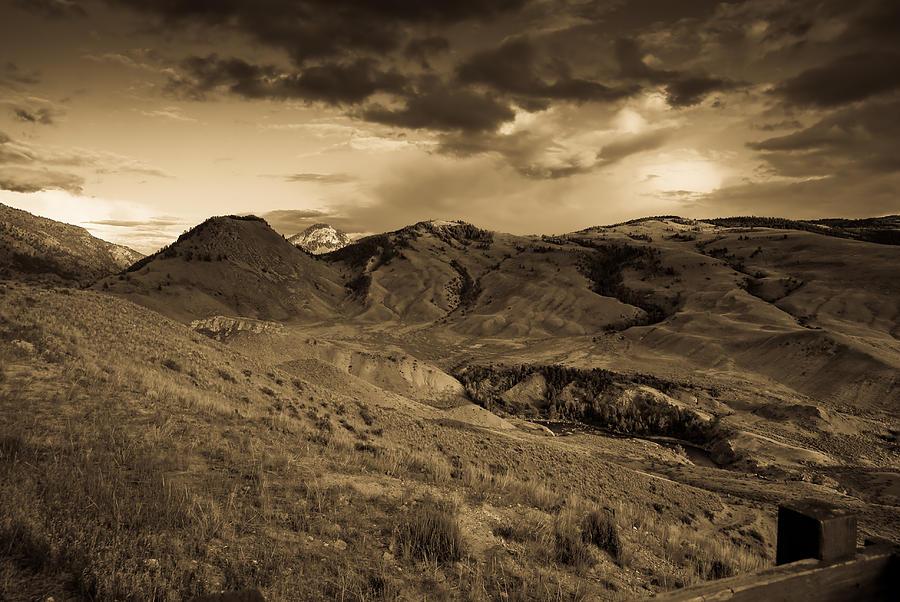 Montana Photograph - Montana Landscape by Patrick  Flynn