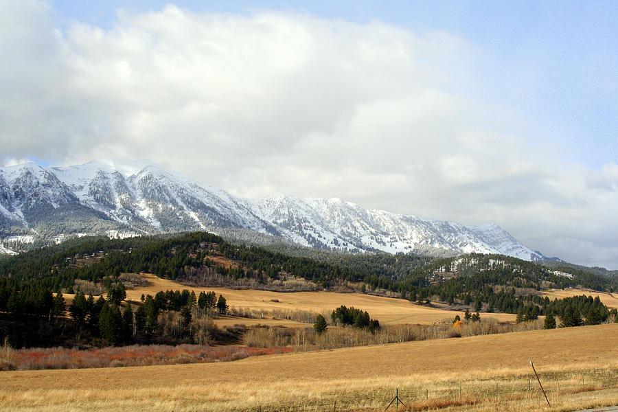 Mountains Photograph - Montana Mountains by Lynn Bawden